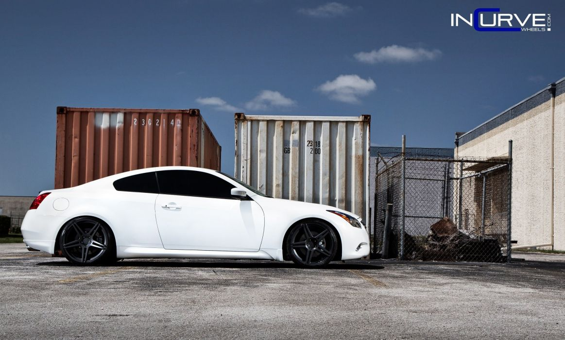 g37 Incurve infiniti Tuning wheels cars wallpaper