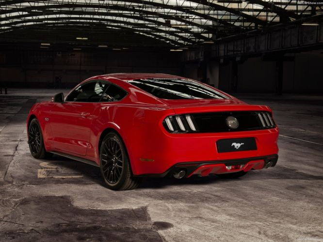 Ford Mustang EU-Version coupe cars 2015 wallpaper