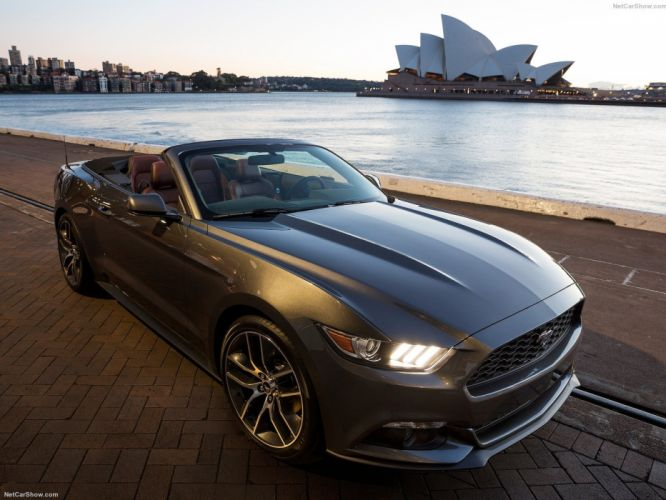 Ford Mustang convertible cars 2015 wallpaper