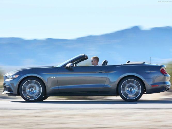 Ford Mustang convertible cars 2015 wallpaper