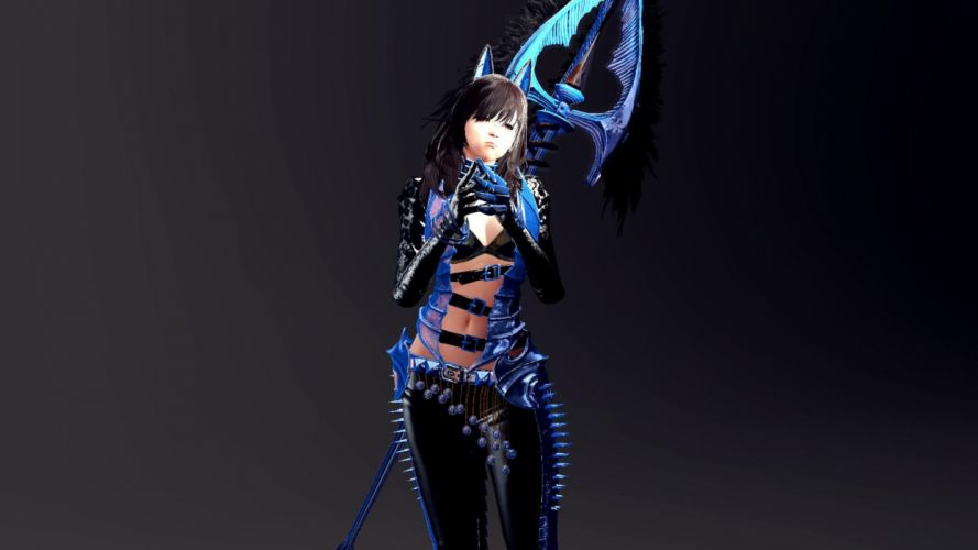 VINDICTUS fantasy mmo rpg action fighting 1vind online Mabinogi Heroes adventure warrior wallpaper