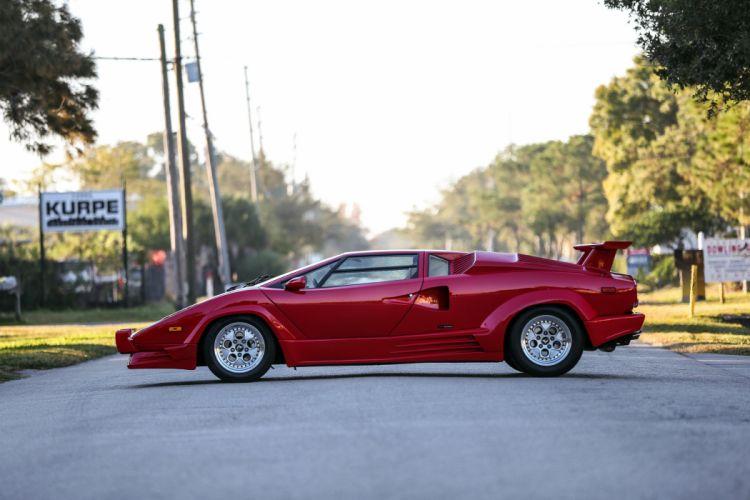 classic countach Lamborghini red Supercar cars wallpaper