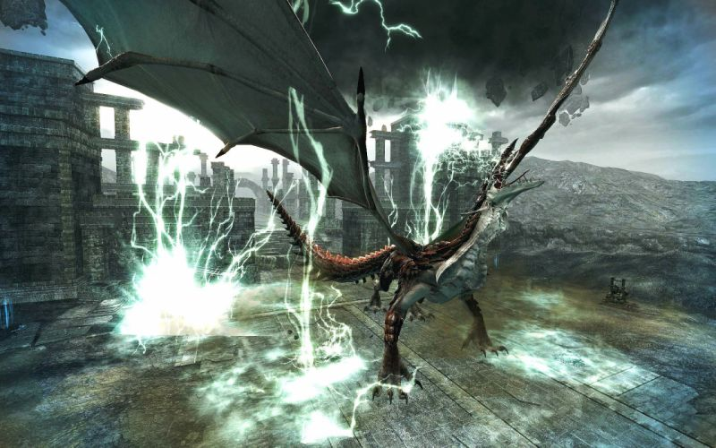 VINDICTUS fantasy mmo rpg action fighting 1vind online Mabinogi Heroes adventure warrior dragon wallpaper