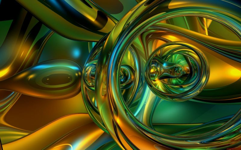 abstracto circulos colorido wallpaper