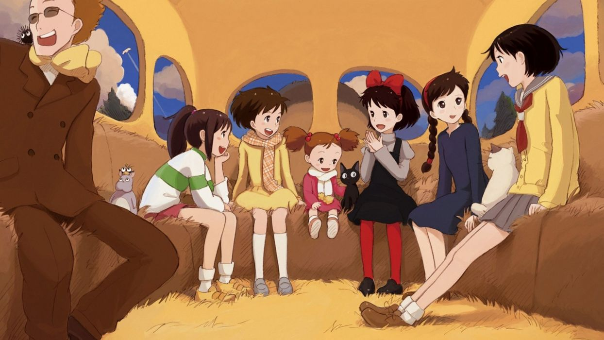 Hayao Miyazaki wallpaper