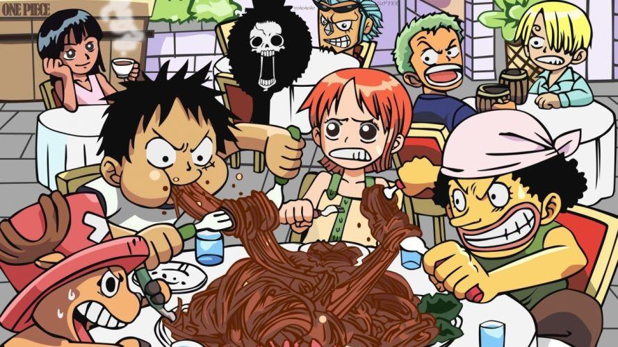 One Piece eat wallpaper