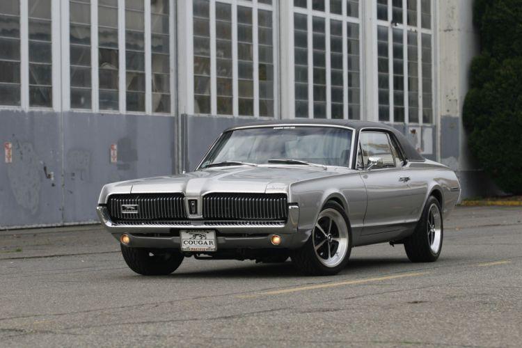 1967 Mercury Cougar Muscle Hot Rod Custom USA 2040x1360 (1) wallpaper