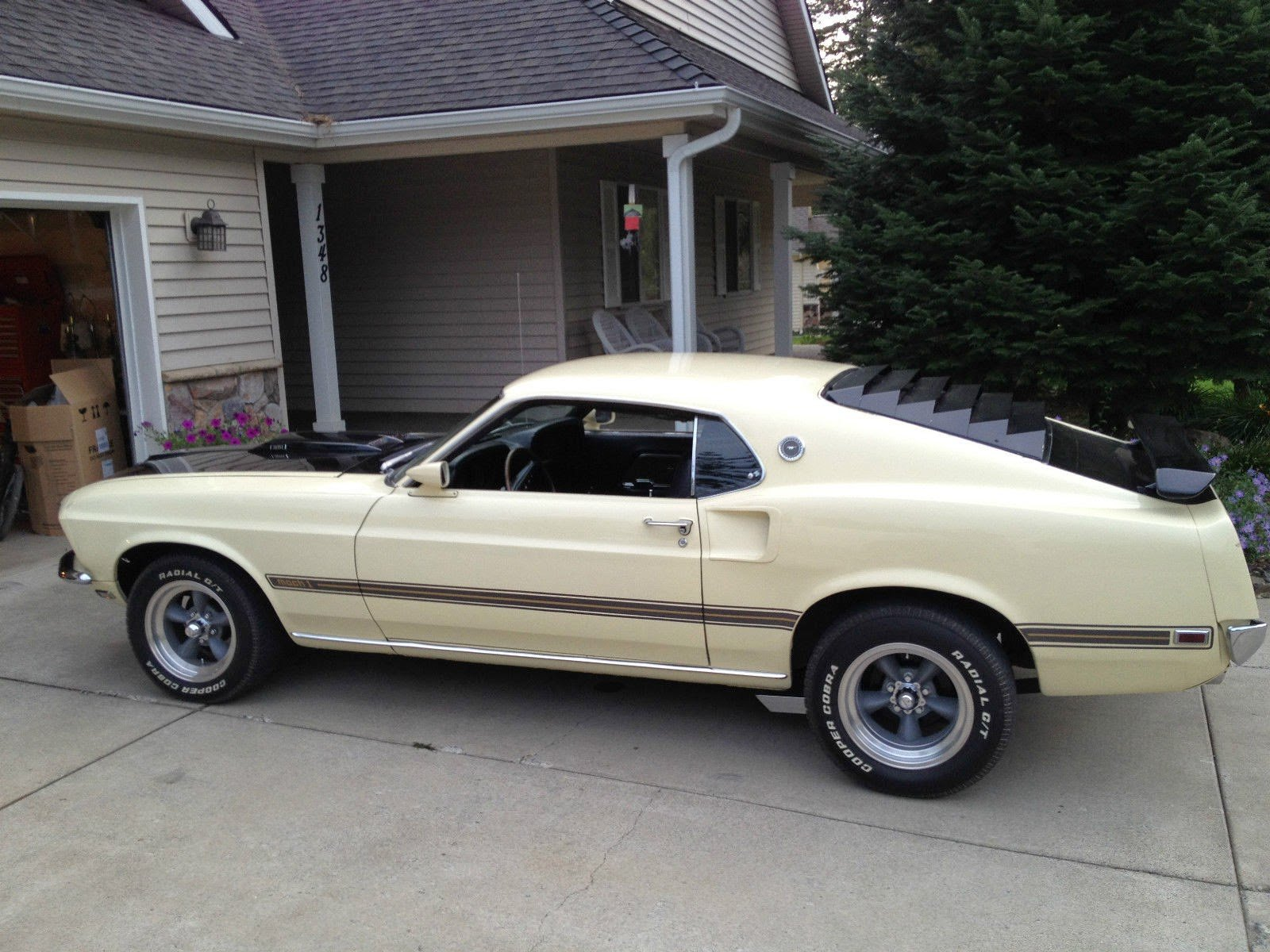 1969 Ford Mustang Fastback 351 Mach1 Muscle Hot Rod Custom
