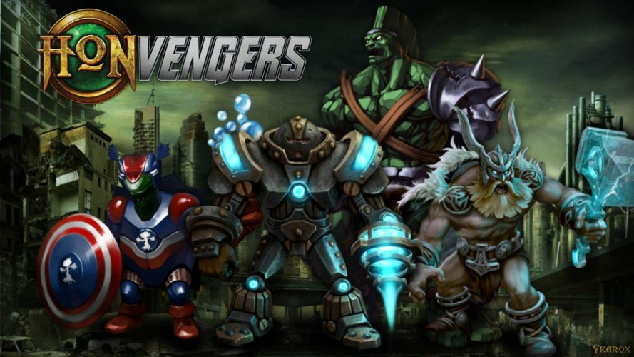 HEROES Of NEWERTH arena mmo online fighting fantasy 1hon moba action hon warrior sci-fi avengers wallpaper