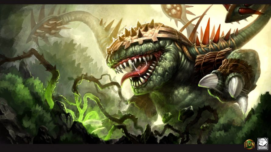 HEROES Of NEWERTH arena mmo online fighting fantasy 1hon moba action hon warrior sci-fi magic wallpaper
