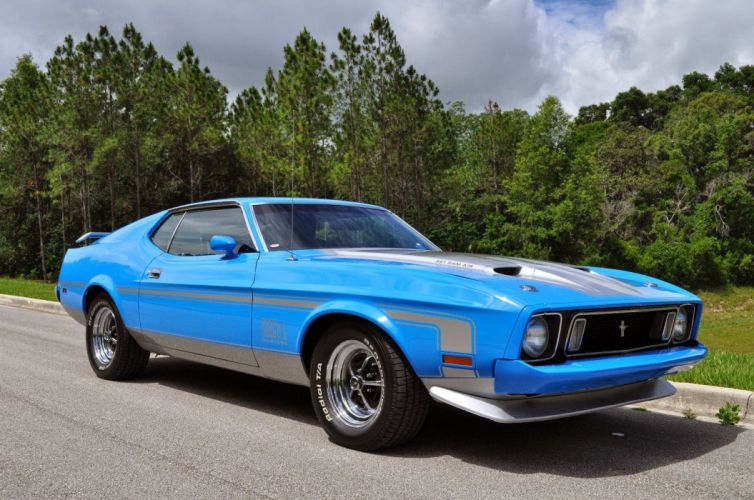 1973 Ford Mustang Mach1 Fastback Classic Muscle USA 1600x1024 (1) wallpaper
