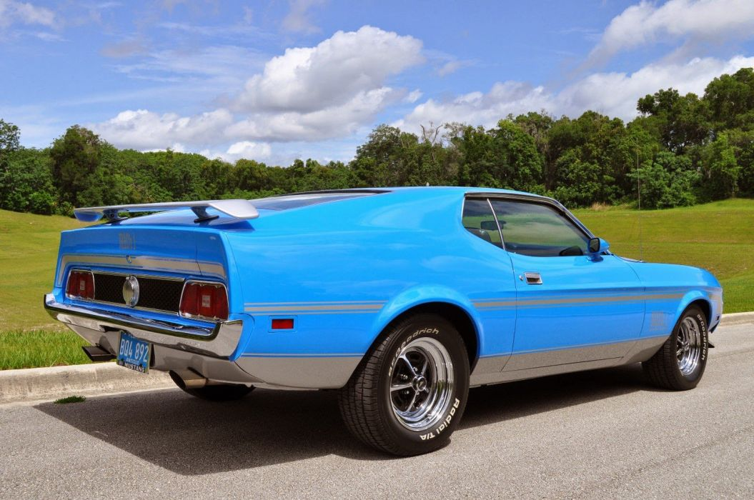 1973 Ford Mustang Mach1 Fastback Classic Muscle USA 1600x1024 (3) wallpaper