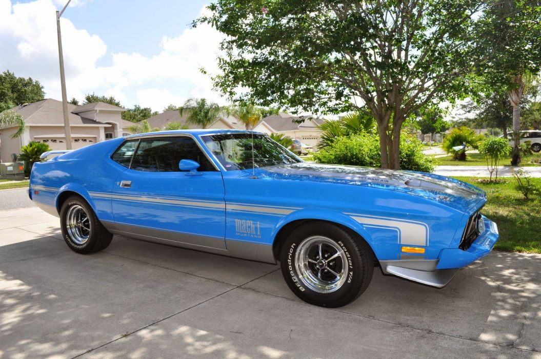 1973 Ford Mustang Mach1 Fastback Classic Muscle USA 1600x1024 (4) wallpaper