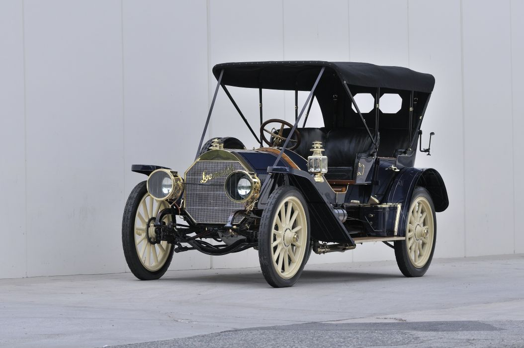 1909 Locomobile Model 40 Toy Tonneau Classic USA 04 wallpaper
