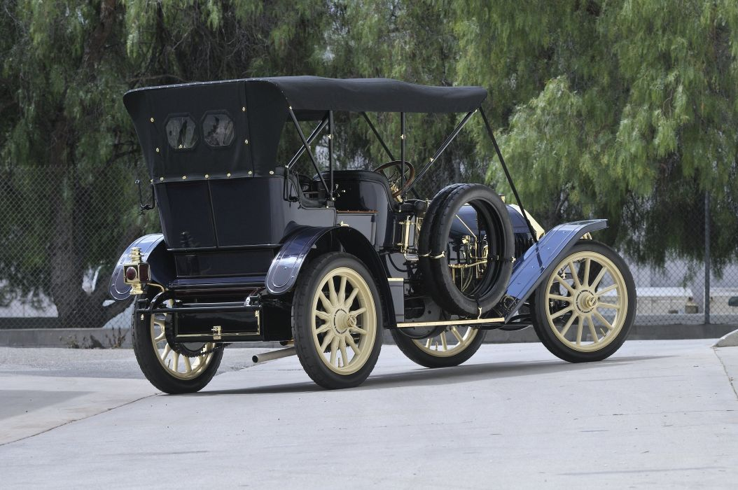1909 Locomobile Model 40 Toy Tonneau Classic USA 03 wallpaper