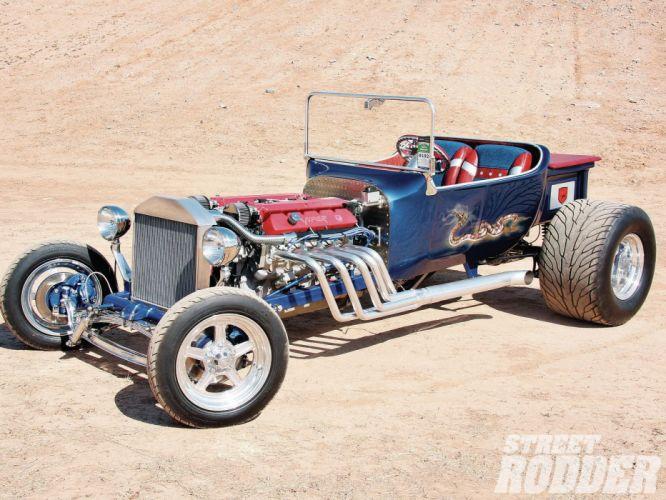 1923 Ford ModelT Tbucket Hotrod Hot Rod Custom USA 1600x1200 (3) wallpaper
