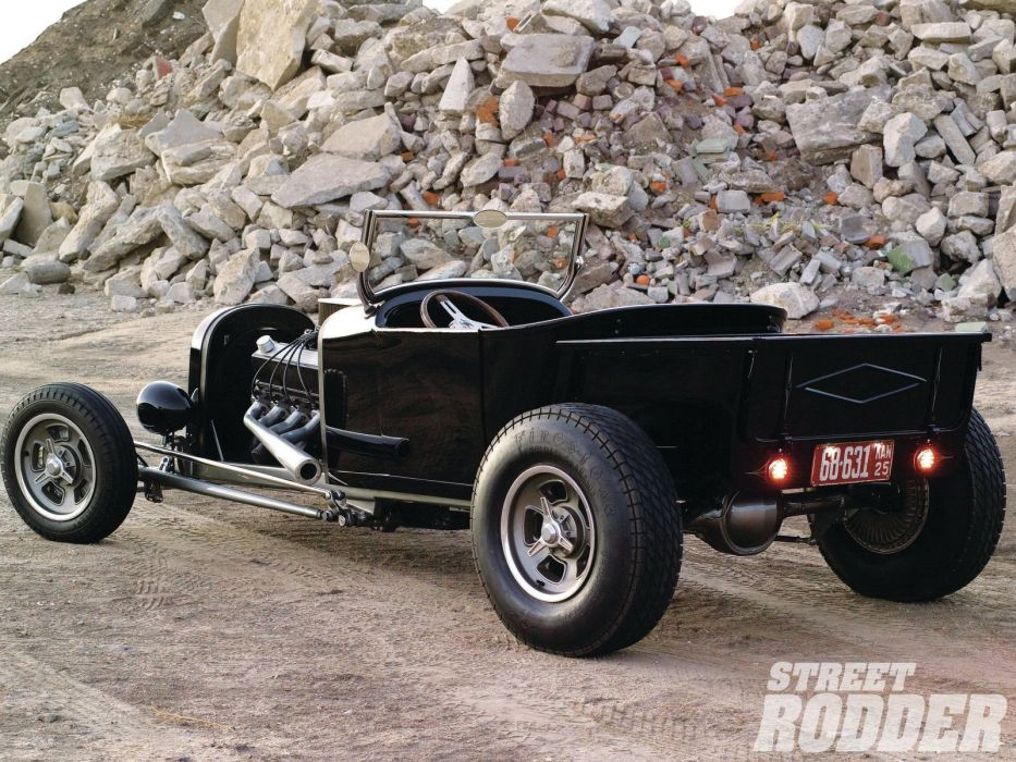 1925 Dodge Tbucket Hotrod Hot Rod Custom USA 1600x1200 (2) wallpaper