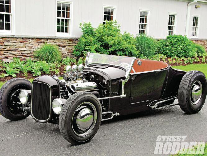 1926 Ford ModelT Roadster Hotrod Hot Rod Custom USA 1600x1200 (2) wallpaper