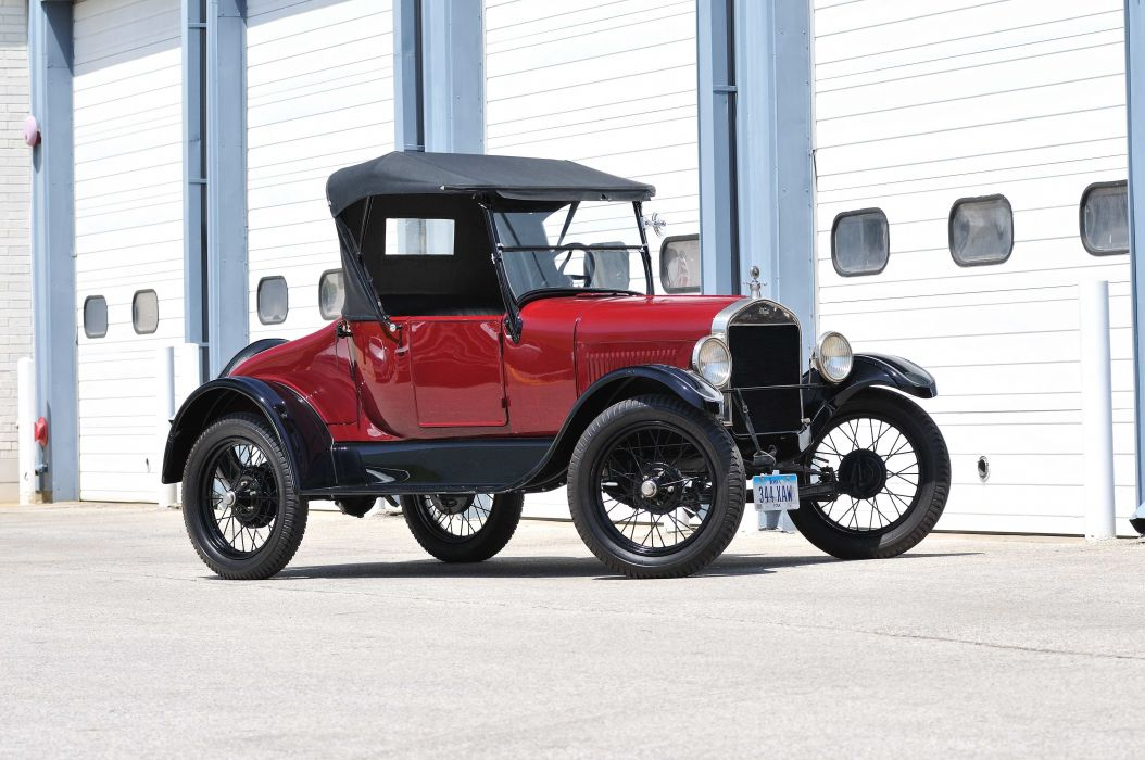 1927 Ford Model T Roadster Classic USA 4288x2848-01 wallpaper