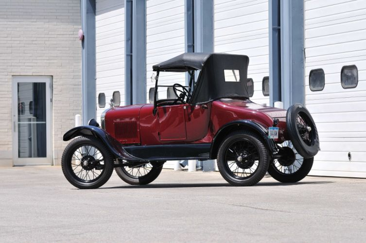 1927 Ford Model T Roadster Classic USA 4288x2848-03 wallpaper