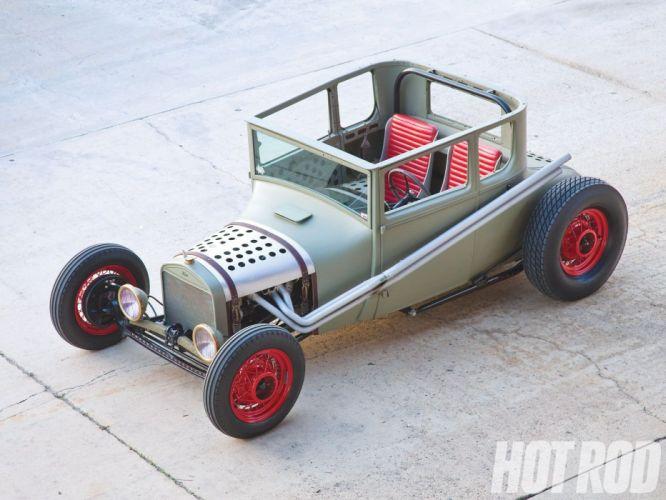 1927 Ford ModelT Coupe Hotrod Hot Rod Custom USA 1600x1200 (3) wallpaper