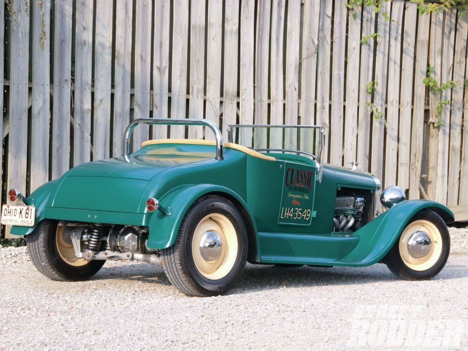 1927 Ford ModelT Roadster Hotrod Hot Rod Custom USA 1600x1200 (17) wallpaper