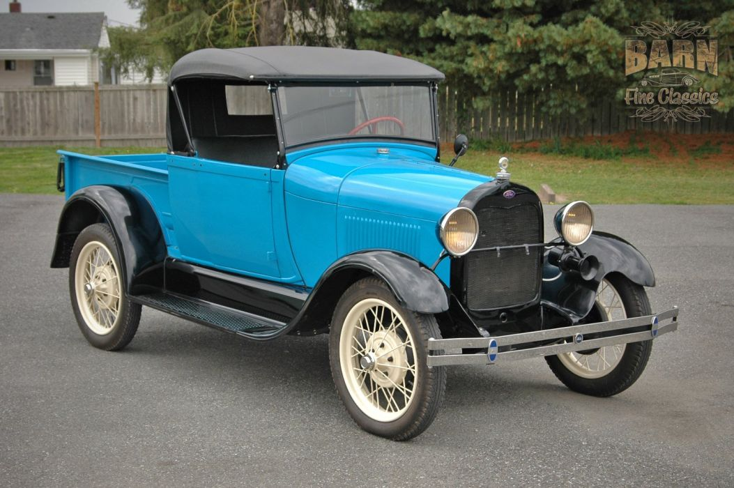 1928 Ford ModelA Roadster Pickup Classic USA 1500x1000 (02) wallpaper
