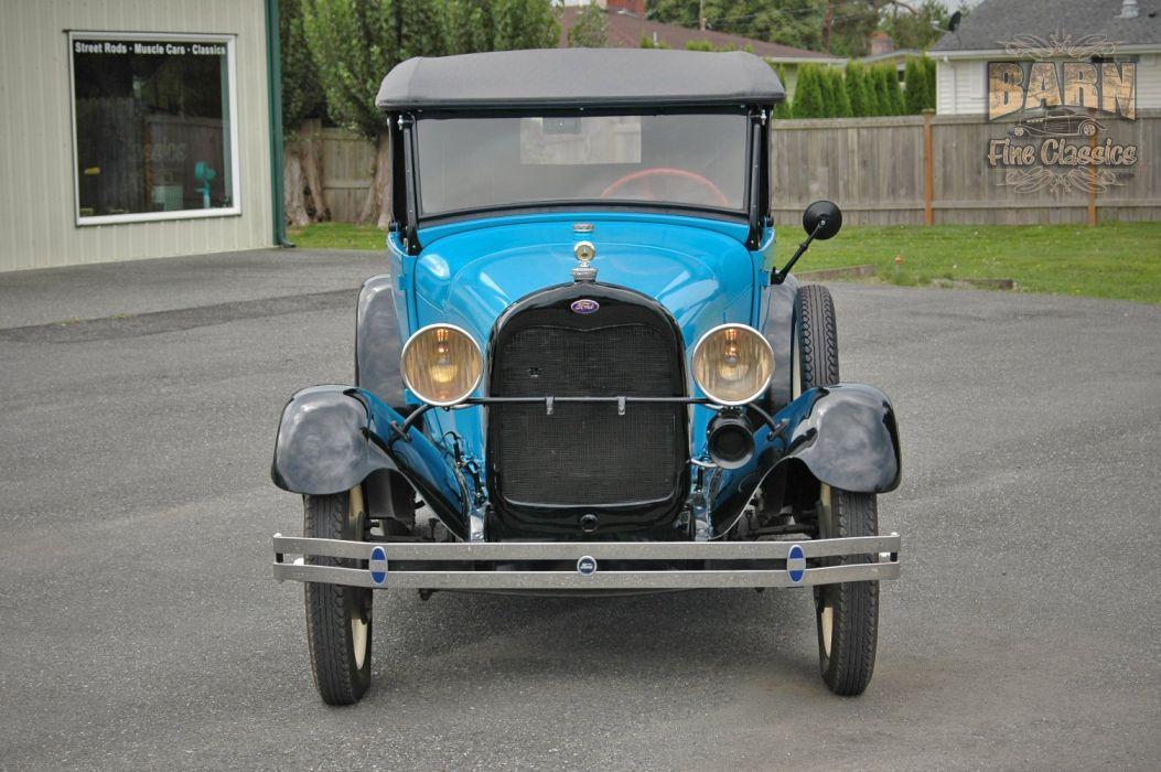 1928 Ford ModelA Roadster Pickup Classic USA 1500x1000 (03) wallpaper