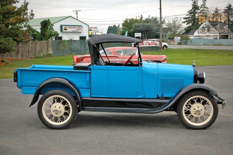1928 Ford ModelA Roadster Pickup Classic USA 1500x1000 (01) wallpaper