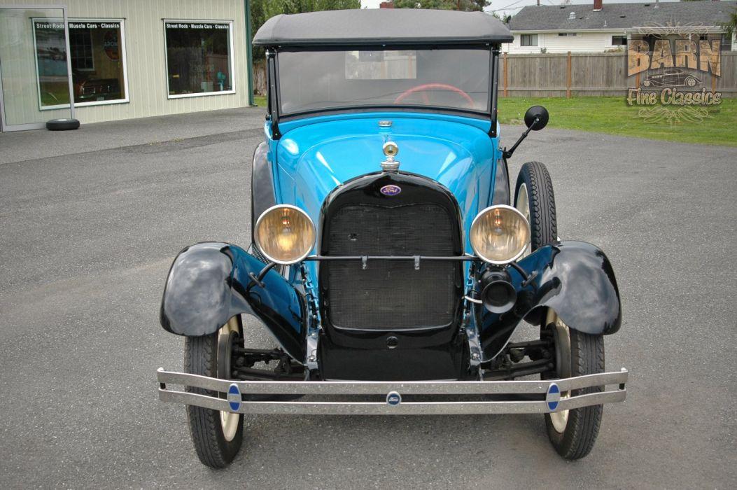 1928 Ford ModelA Roadster Pickup Classic USA 1500x1000 (06) wallpaper