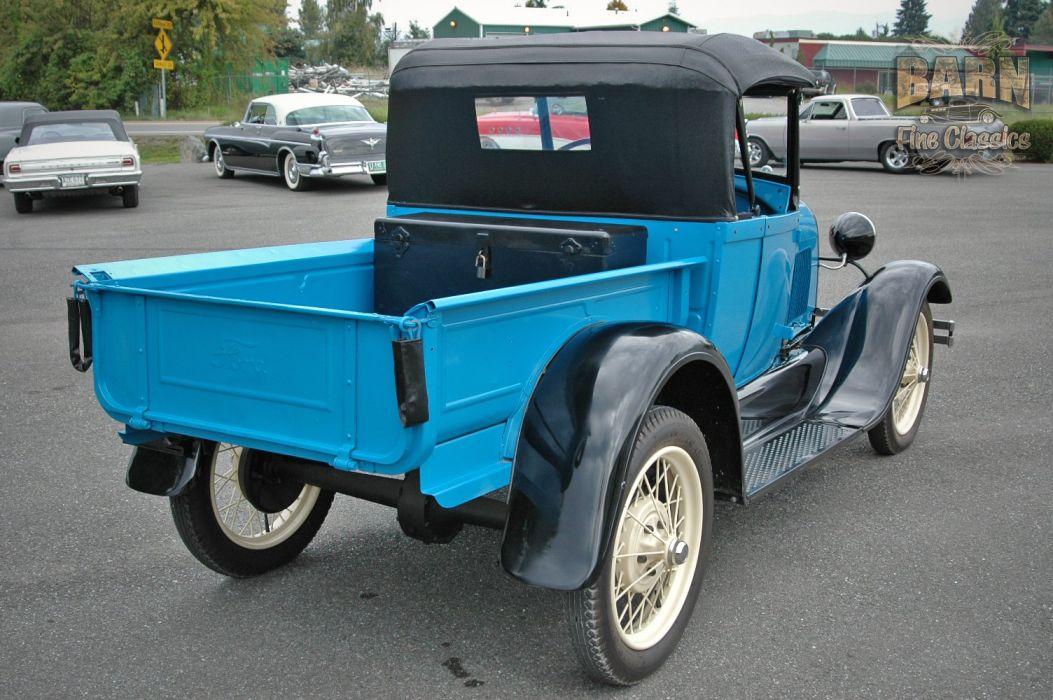 1928 Ford ModelA Roadster Pickup Classic USA 1500x1000 (07) wallpaper