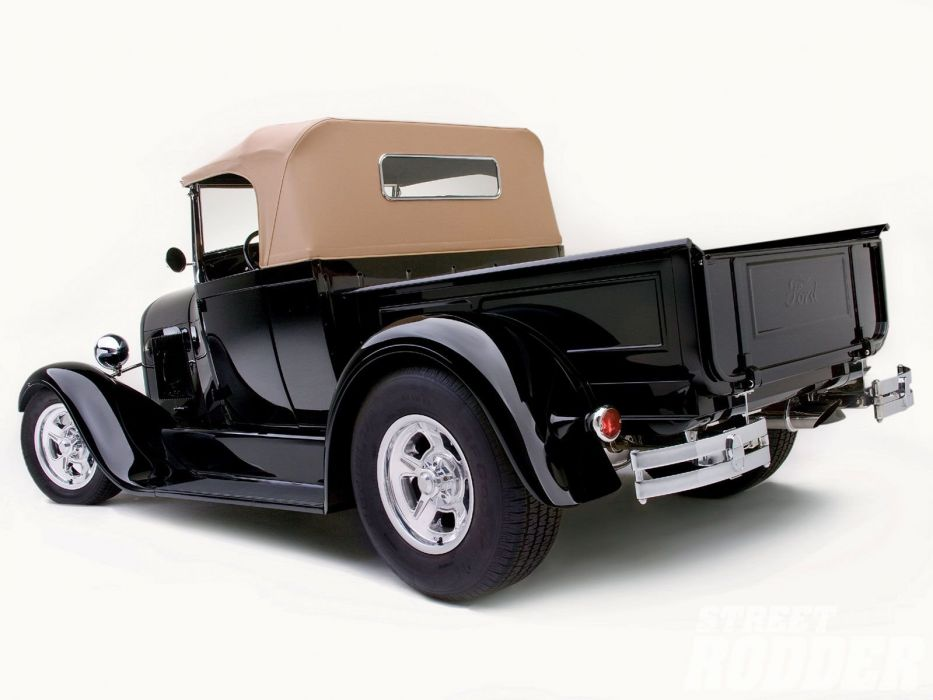 1928 Ford ModelA Roadster Pickup Hotrod Hot Rod Custom USA 1600x1200 (12) wallpaper