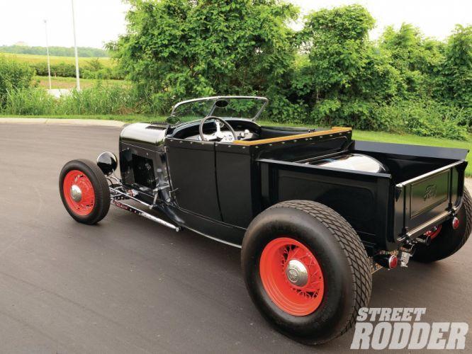 1928 Ford ModelA Roadster Pickup Hotrod Hot Rod Custom USA 1600x1200 (14) wallpaper
