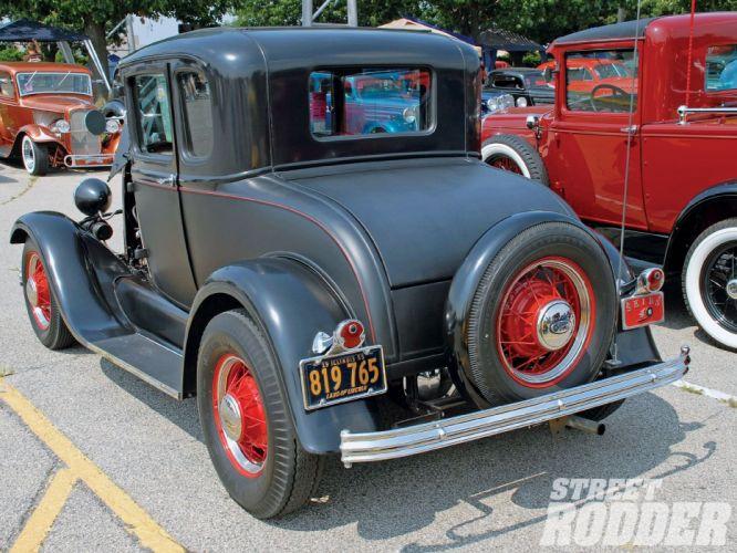 1929 Ford ModelA Coupe Hotrod Hot Rod USA 1600x1200 (01) wallpaper