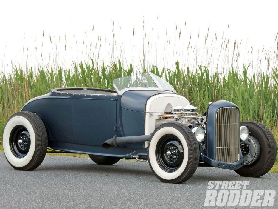 1929 Ford ModelA Highboy Roadster Hotrod Hot Rod USA 1600x1200 (03) wallpaper