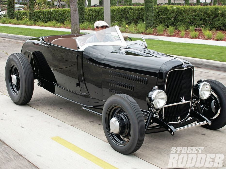1929 Ford ModelA Highboy Roadster Hotrod Hot Rod USA 1600x1200 (05) wallpaper