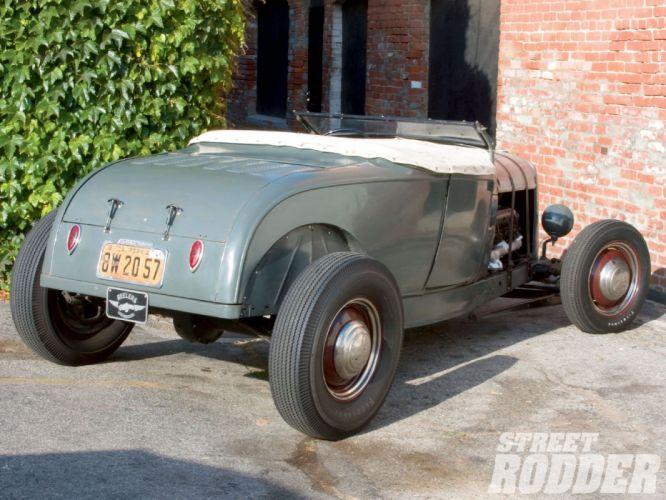 1929 Ford ModelA Highboy Roadster Hotrod Hot Rod USA 1600x1200 (08) wallpaper