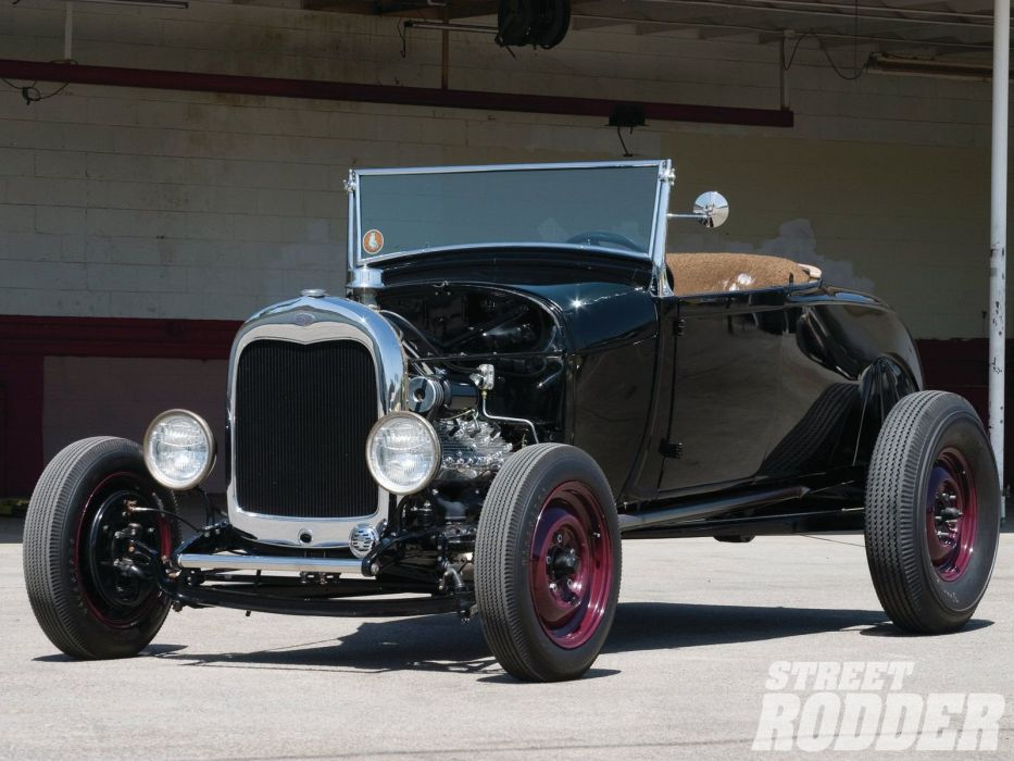 1929 Ford ModelA Highboy Roadster Hotrod Hot Rod USA 1600x1200 (17) wallpaper