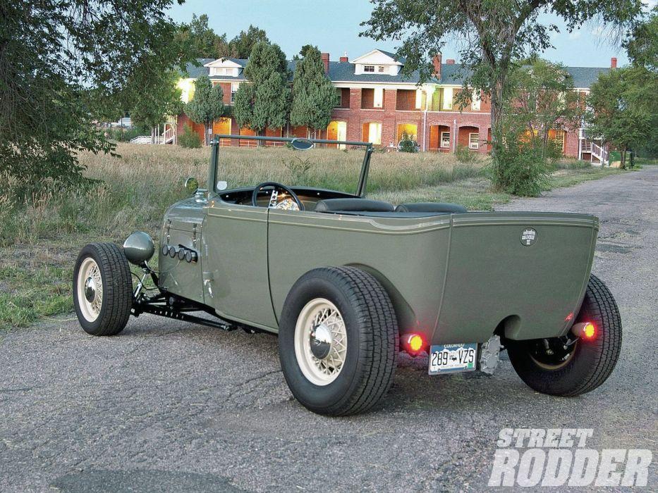 1929 Ford ModelA Phantom Hotrod Hot Rod USA 1600x1200 (06) wallpaper