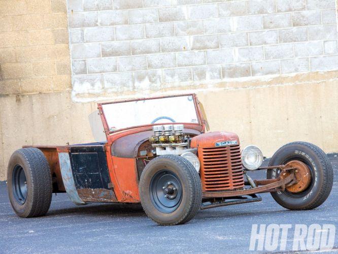 1929 Ford ModelA Pickup Roadster Ratrod Rat Rod USA 1600x1200 (01) wallpaper