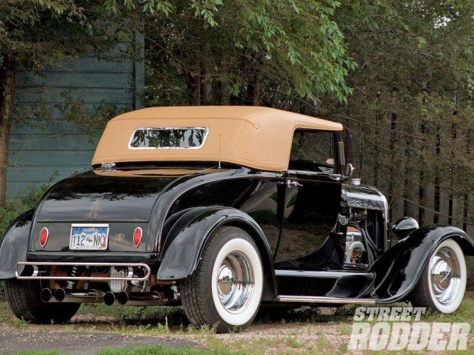 1929 Ford Roadster Hotrod Hot Rod USA 1600x1200 (02) wallpaper