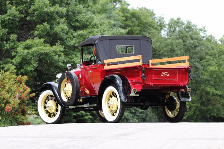 1929 Ford Pickup Roadster Classic USA 5184x3456 02 wallpaper