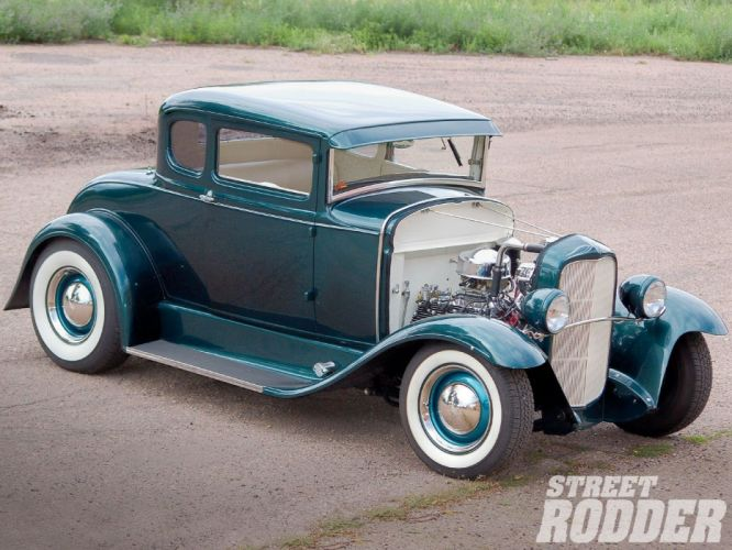 1930 Ford Five Window Coupe Hotrod Hot Rod Custom USA 1600x1200 -01 wallpaper
