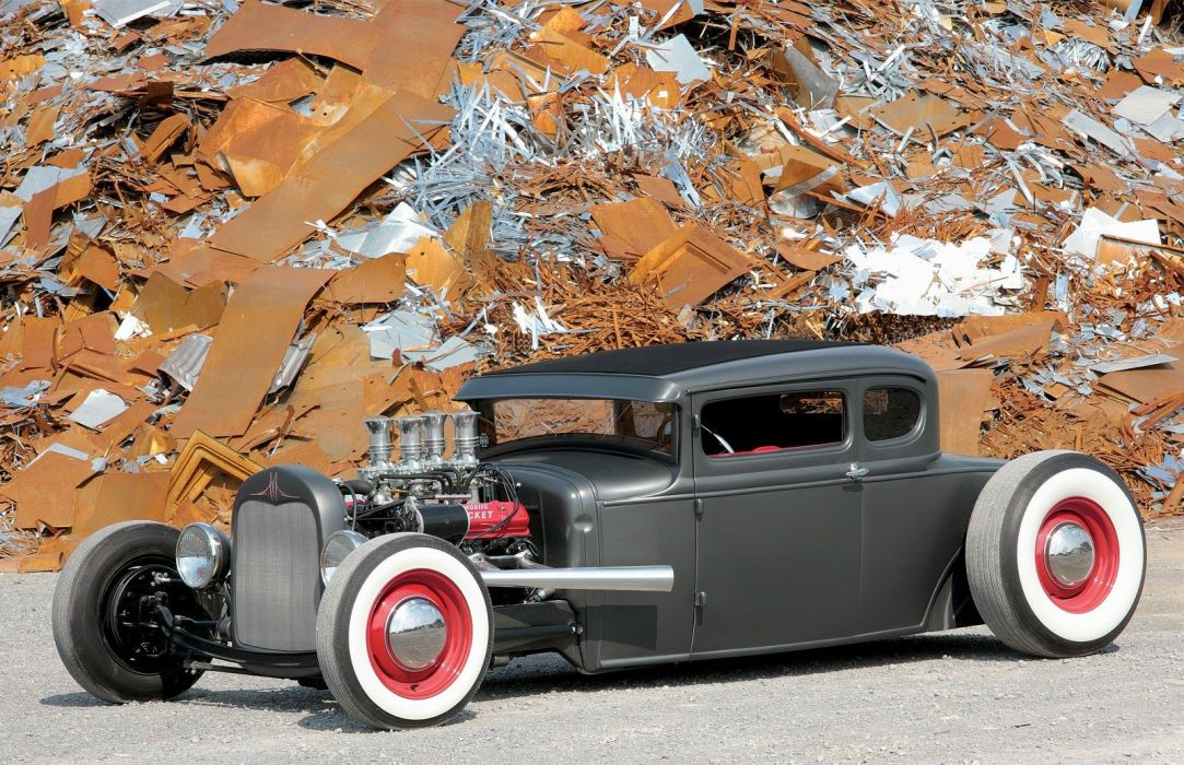 1930 Ford Five Window Coupe Hotrod Hot Rod Custom USA 1600x1200 -06 wallpaper