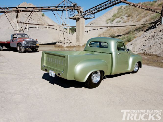 1949 Studebaker Pickup Custom Hot Rod USA 1600x1200 (2) wallpaper
