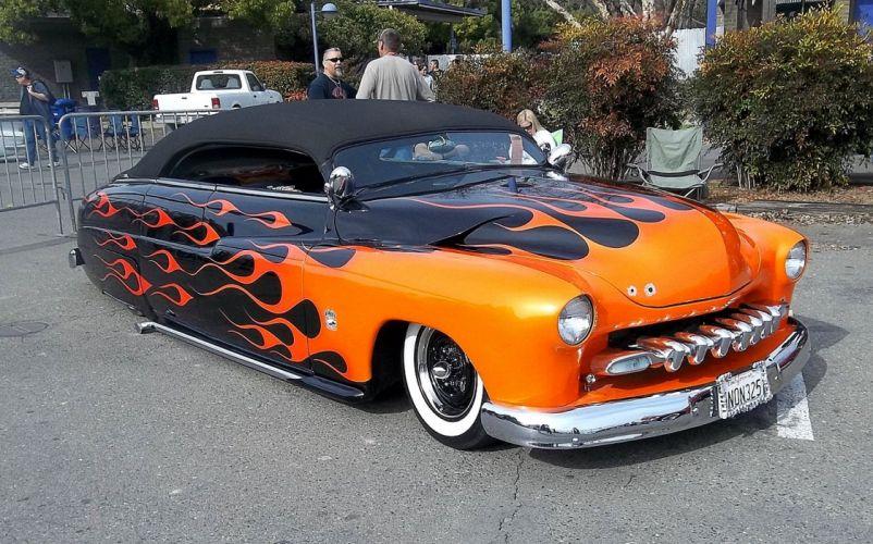 1949 Mercury Convertible Custom leadsled Hot USA 1450x904 wallpaper