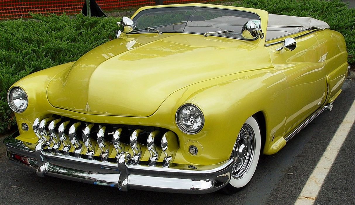 1950 Mercury CVonvertible Custom leadsled Hot USA 1561x900 wallpaper