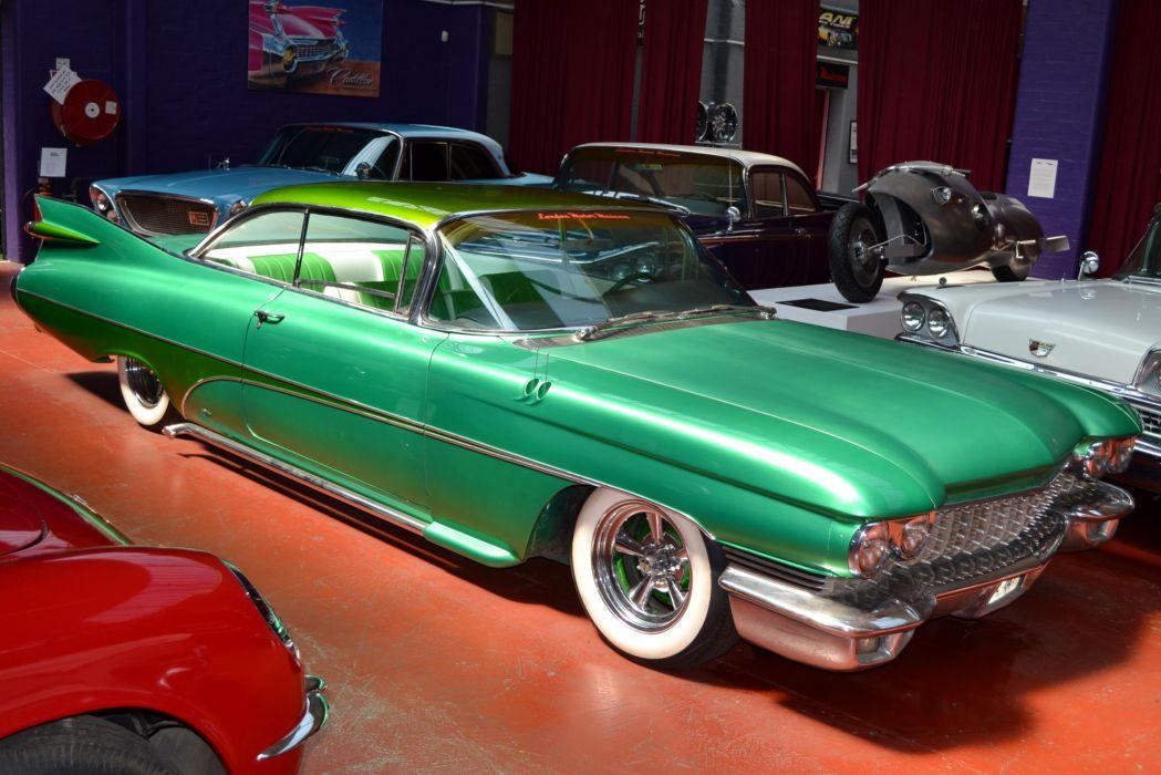 1959 Cadillac Coupe Custom Low Hot USA 3240x2160 wallpaper