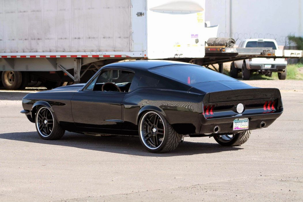 1967 Ford Mustang Fastback Muscle Hot Rod Custom Street USA 1600x1066 (3) wallpaper