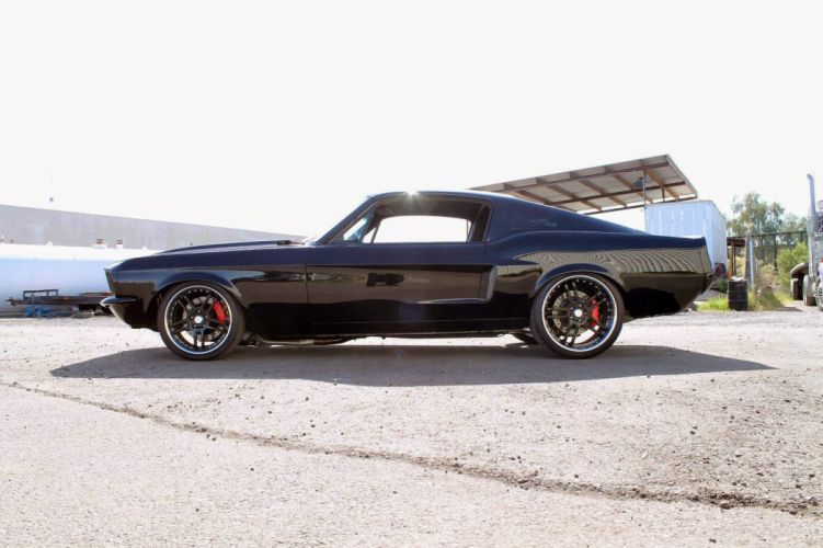 1967 Ford Mustang Fastback Muscle Hot Rod Custom Street USA 1600x1066 (2) wallpaper